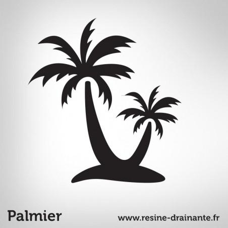Motif palmier