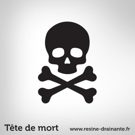 Motif Tête de mort
