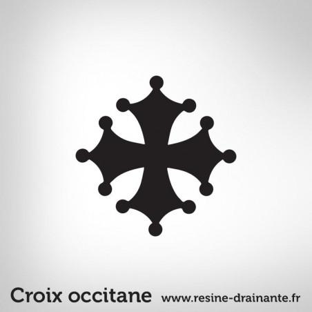 Motif Croix occitane