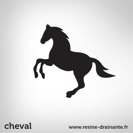 Motif cheval